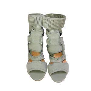 Zara Neoprene Knit Trendy Blogger Fav Sandals